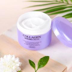 Крем для лица с коллагеном Jigott Collagen Healing Cream, 100 мл