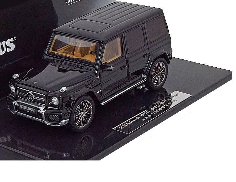 Коллекционная модель Mercedes-Benz Gelandewagen Brabus G V12 800 2012