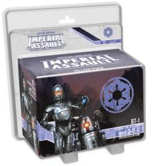 Star Wars Imperial Assault: BT-1 and 0-0-0 Villain Pack
