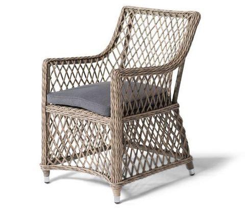 Кресло Latte плетеный ротанг (цвет соломы)