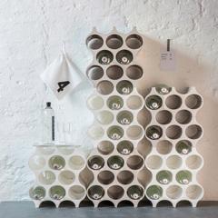 Подставка для бутылок SET-UP Organic, серая, фото 3
