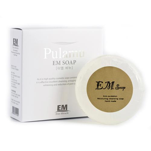 Увлажняющее антиоксидантное прозрачное мыло, Pulamu