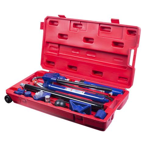 МАСТАК (7-1017C) Набор гидравлического инструмента (гидравличекая растяжка), 10т, кейс, 17 предметов
