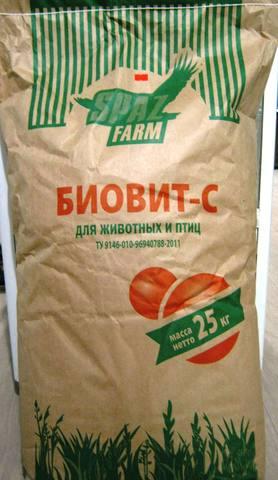 Кормовой Биовит - С