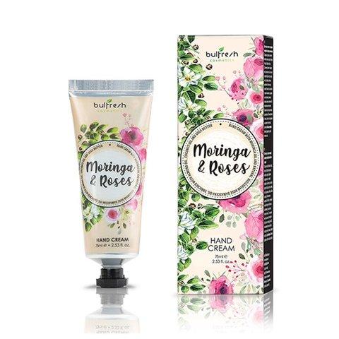 Увлажняющий крем для рук с маслом Моринги и Болгарским Розовым маслом
