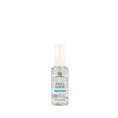 Масло-флюид для волос TNL Sexy Shine с маслом перcиковой косточкки, 50 мл