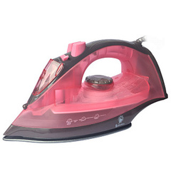 Утюг электрический 2200 Вт ВАСИЛИСА ВА-2001 розовый с коричневым