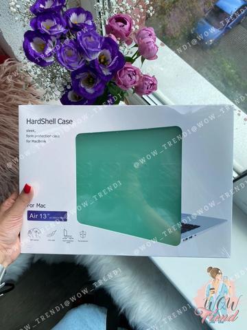 Накладка пластик MacBook Air 13.3 /matte mint/ DDC