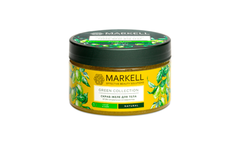 Markell Green Collection Скраб-желе для тела Сахар и Лайм 250мл