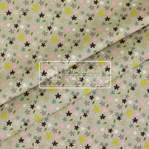 Ткань для пэчворка, хлопок 100% (арт. RB0103)
