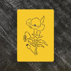 Цветок Мак №1