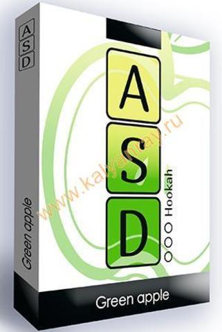 Безникотиновая смесь ASD Hookah - Зеленое Яблоко