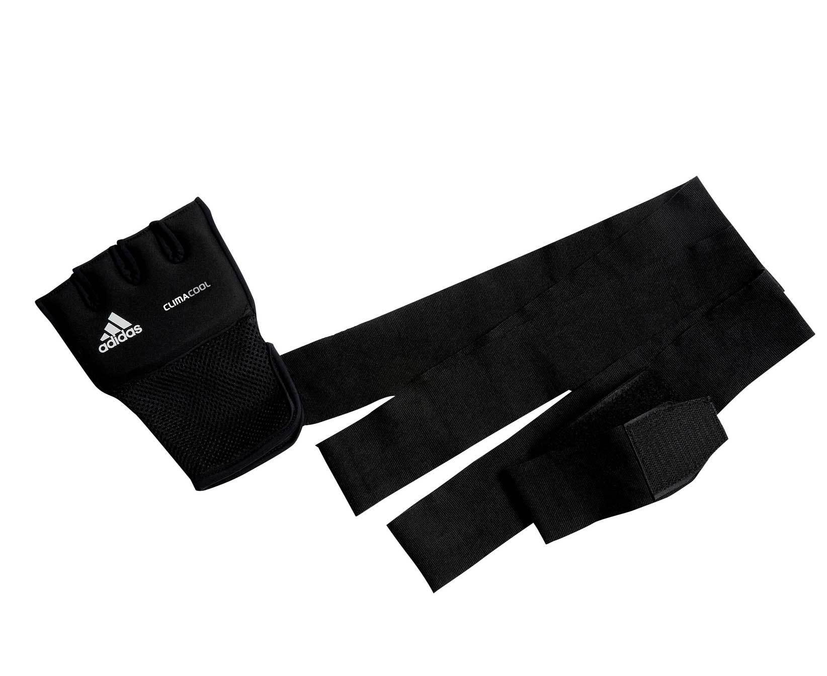 Снарядные перчатки НАКЛАДКИ ГЕЛЕВЫЕ ADIDAS С БИНТОМ 2 МЕТРА nakladki_gelevye_s_bintom_2_metra_quick_wrap_glove_mexican_chernye_pic1.jpg