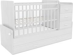 Кровать детская СКВ-5, маятник 4 ящ.,