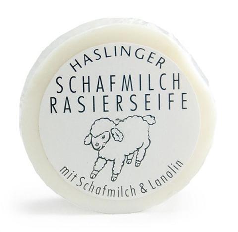 Мыло для бритья Haslinger Sheep milk 60гр