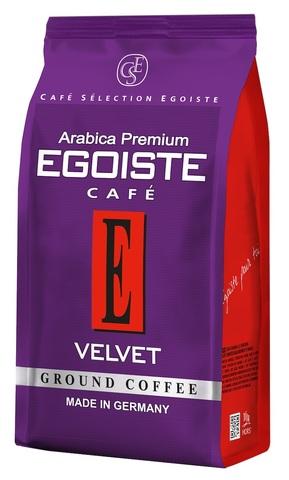 Кофе молотый Velvet, Egoiste, 200 г