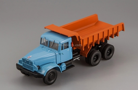 KRAZ-222B dump 1963-1966 blue-brown 1:43 Nash Avtoprom