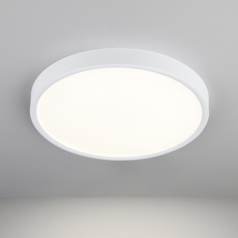 Накладной потолочный светодиодный светильник DLR034 24W 4200K
