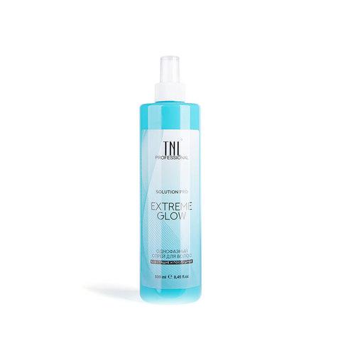 Однофазный спрей для волос TNL Solution Pro Extreme Glow для легкого расчесывания и блеска, 500 мл