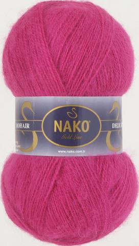 Купить Пряжа Nako Mohair Delicate Код цвета 6141 | Интернет-магазин пряжи «Пряха»
