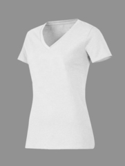 Женская рибана футболка