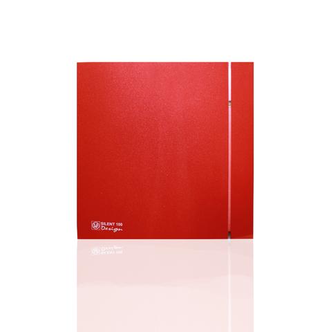 Накладной вентилятор Soler & Palau SILENT 200 CHZ DESIGN-3С RED (датчик влажности)