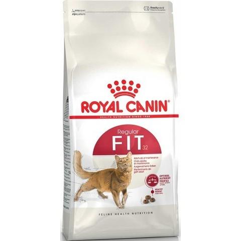 Royal Canin Fit 32 сухой корм для взрослых кошек бывающих на улице 15 кг