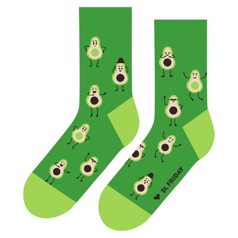 St.Friday Socks Настроение авокадо