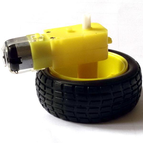 Комплект Колесо (66мм) и мотор-редуктор для робота