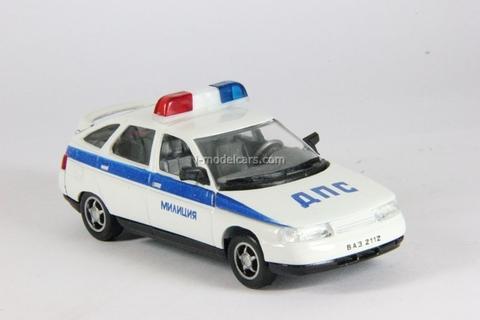 VAZ-2112 Lada Police DPS Agat Mossar Tantal 1:43