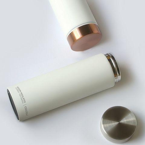 Термос Asobu Le Baton Travel (0,5 литра), белый/серебряный