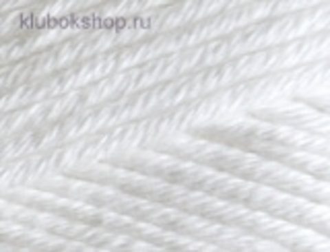 Cotton gold PLUS 55 Белый Alize - фото
