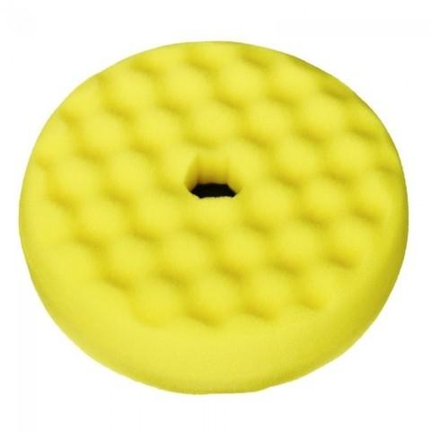 3М Полировальник двусторонний Quick Connect, желтый, 150мм.