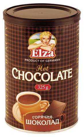 Горячий шоколад, Elza, 325 г