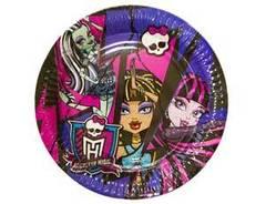 "РАСПРОДАЖА! Тарелки ""Monster High"""
