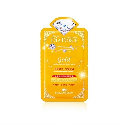 Rearar Dia Force Gold Hydro Ampoule Gel Mask