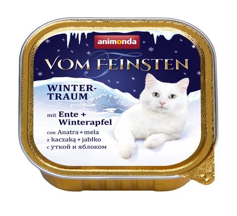 Консервы Animonda Vom Feinsten с уткой и яблоками для взрослых кошек