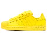 Кроссовки Женские Adidas SuperStar Yellow