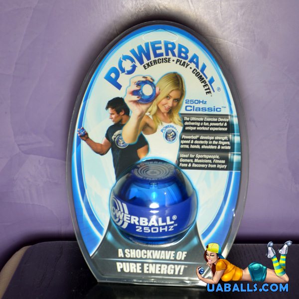 коробка powerball pro blue