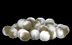 Бойлы насад. плав. двух цв. Sonik Baits SPICES-GARLIC Fluo Pop-ups 14мм 90мл
