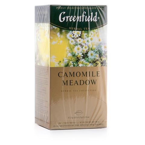 "Чай ""Greenfield"" Camomile meadow 25*1,5 г"
