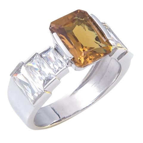 Кольцо из серебра с султанитом Арт.1082с