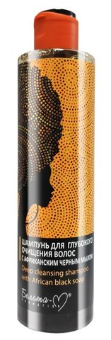 Белита М AFRICAN BLACK SOAP Шампунь для глубокого очищения волос 250г