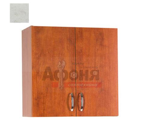 Шкаф для посуды 80 цвет карара (ЛДСП)