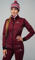 Женская элитная утеплённая лыжная куртка Nordski Pro Wine