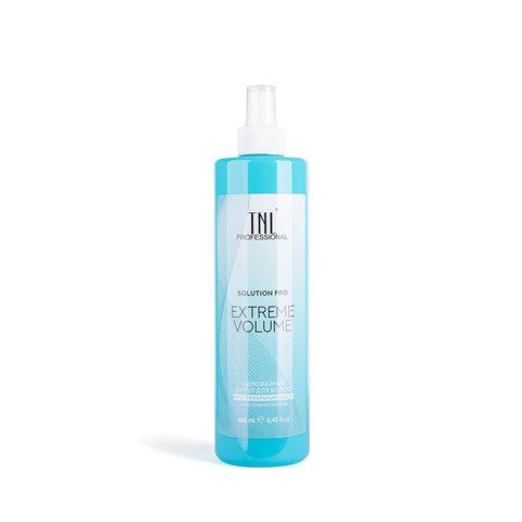 Однофазный спрей для волос TNL Solution Pro Extreme Volume для объема с протеинами пшеницы, 500 мл