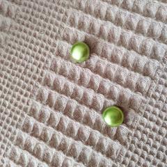 Элегантный магнит для платка, шарфа, палантина (магнитная брошь) перламутр светло-зеленый