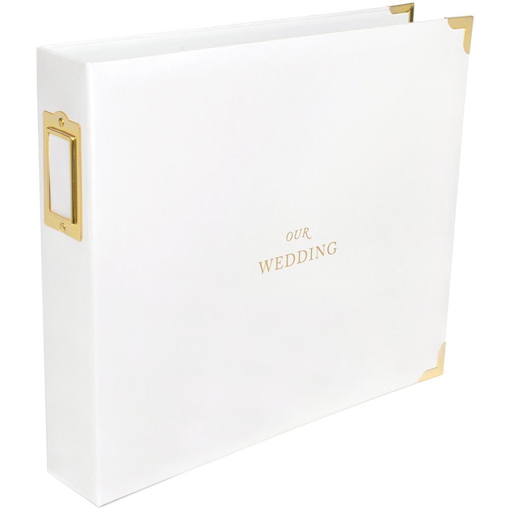 Папка на кольцах для Project Life 30х30 Wedding edition