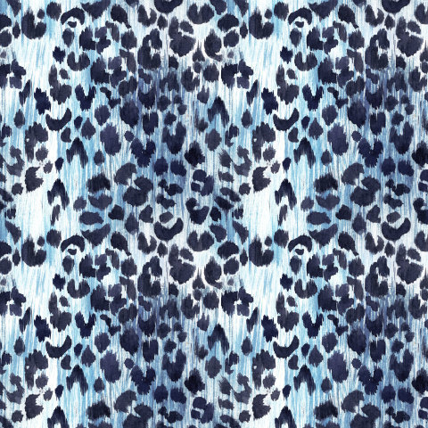 Голубой леопард