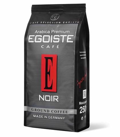 Кофе молотый Noir, Egoiste, 250 г